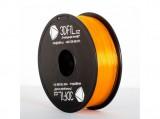 PLA Oranžová transparentní - 1,75mm - 1 kg 3DFIL
