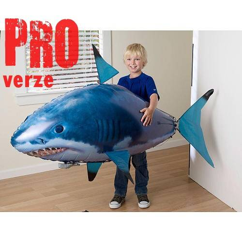 Flying Fish PRO - RC ryba žralok - nejpropracovanější verze na trhu