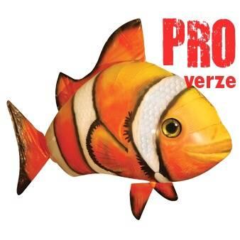 Flying Fish PRO - RC létající ryba Nemo