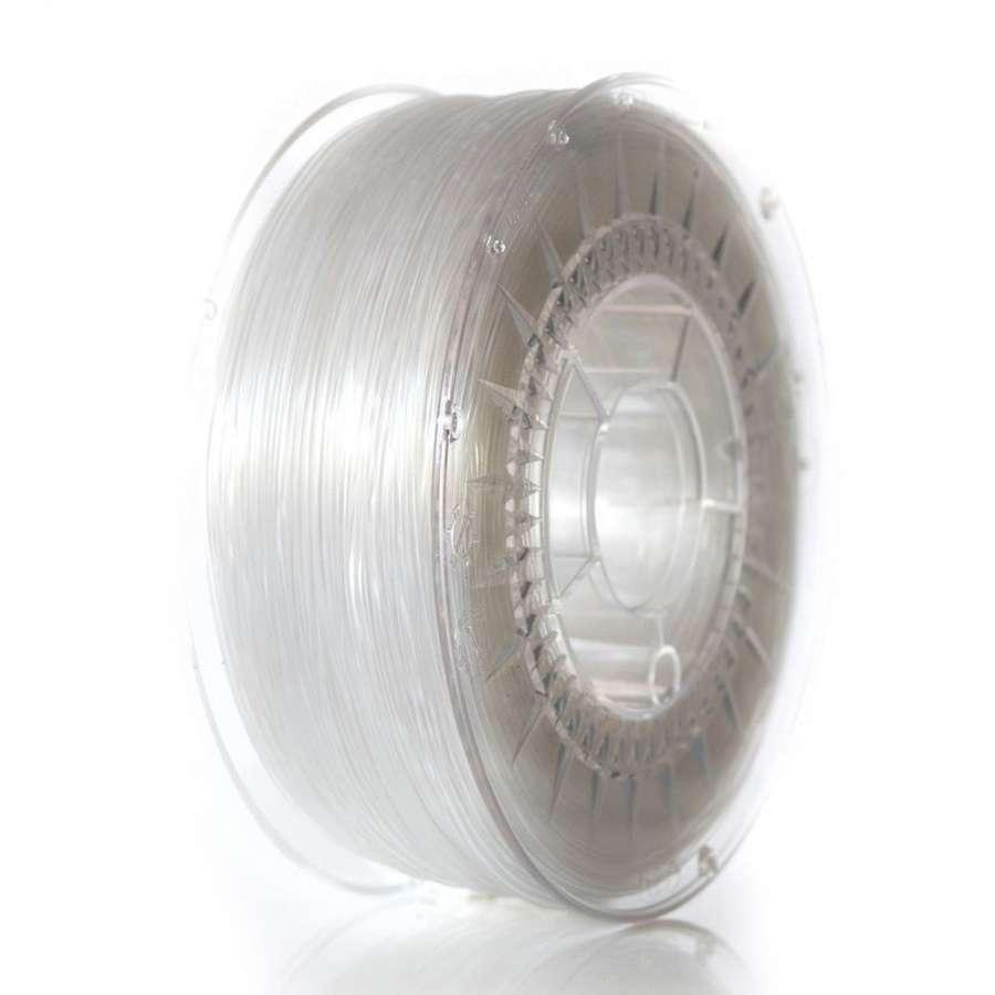 Filament DEVIL DESIGN / PETG / TRANSPARENT / 1,75 mm / 1 kg. DEVILDESIGN