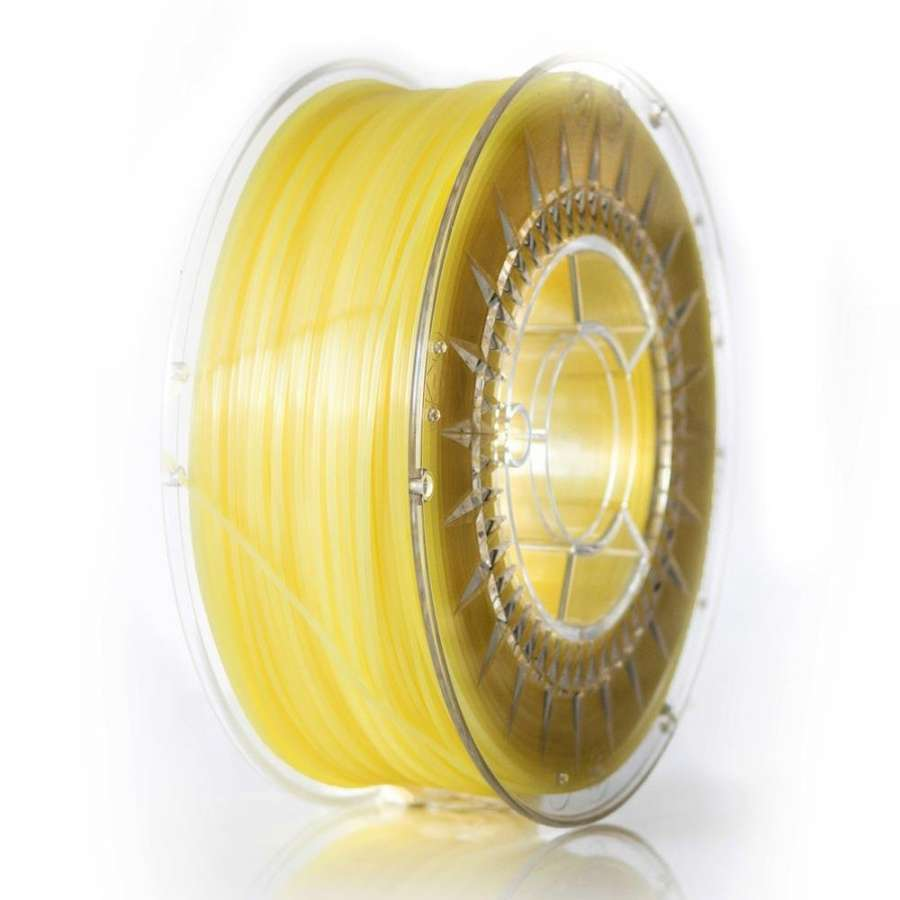 Filament DEVIL DESIGN / PLA / BRIGHT YELLOW / 1,75 mm / 1 kg. DEVILDESIGN