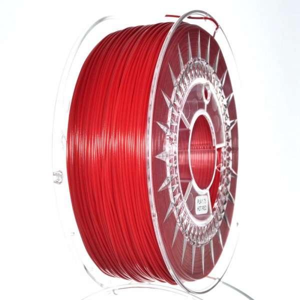 Filament DEVIL DESIGN / PLA / HOT RED / 1,75 mm / 1 kg. DEVILDESIGN