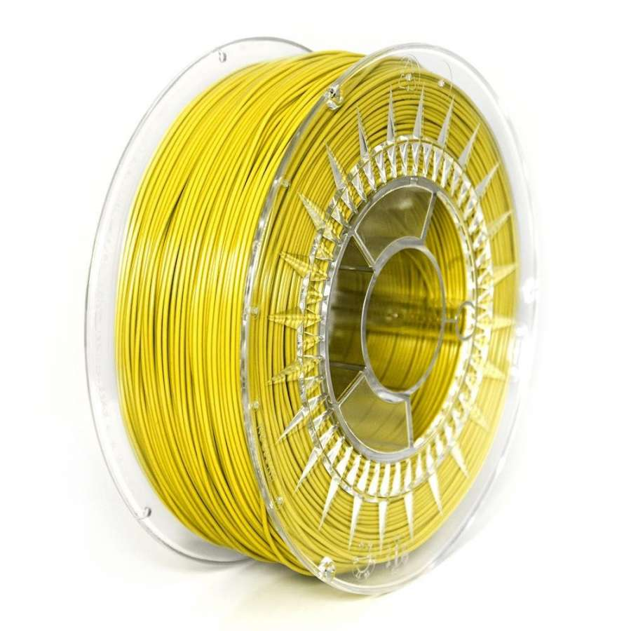 Filament DEVIL DESIGN / PLA / YELLOW / 1,75 mm / 1 kg. DEVILDESIGN