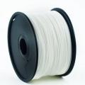 Zvětšit fotografii - GEMBIRD 3D PLA plastové vlákno pro tiskárny, průměr 1,75 mm, bílé
