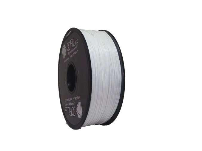 PLA Bílá 1,75 mm - 1 kg 3DFIL