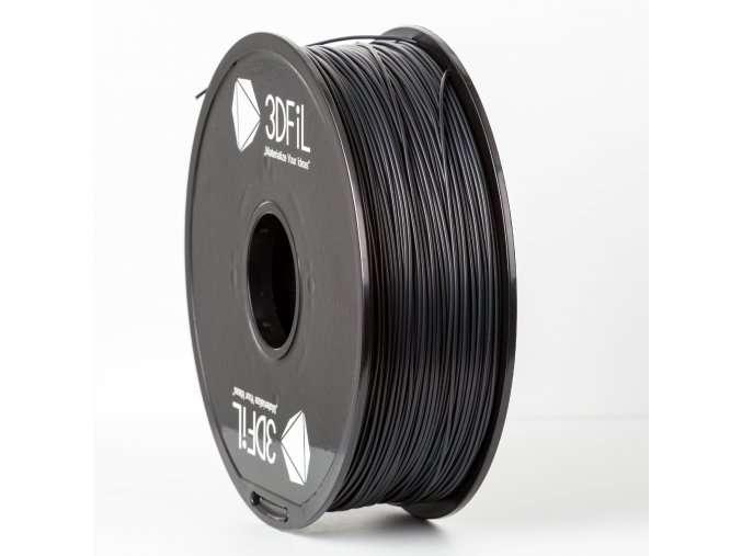 PLA Černá 1,75 mm - 1 kg 3DFIL