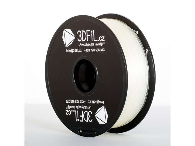 PLA Natural/transparentní - 1,75 mm - 1kg 3DFIL