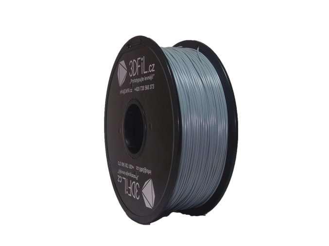 PLA šedá - 1,75 mm - 1 kg 3DFIL