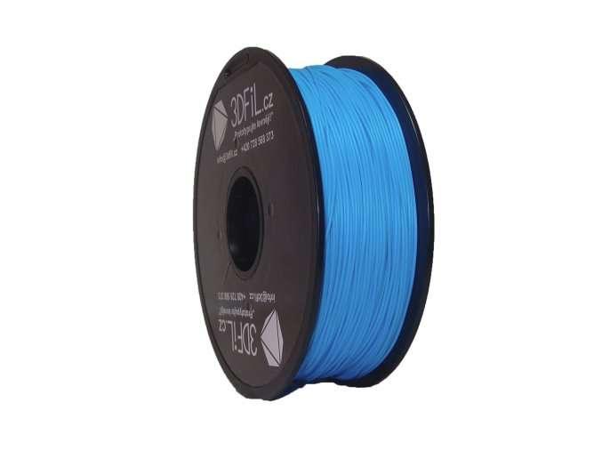 PLA světle modrá - 1,75 mm - 1 kg 3DFIL
