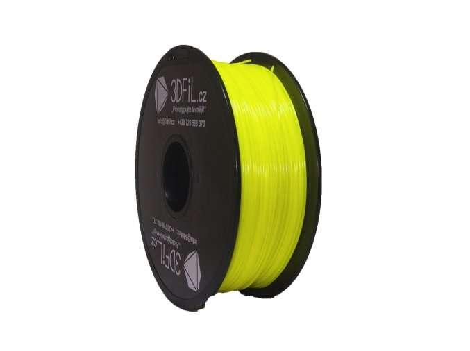 PLA Žlutá 1,75 mm - 1 kg 3DFIL