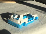Podvozek Renault 5 pro kategorii FC2 Roman Plesl