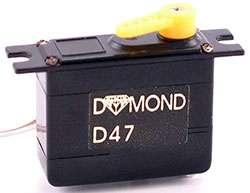 Servo Dymond D47 ( 1118 . X31 nebo H47)