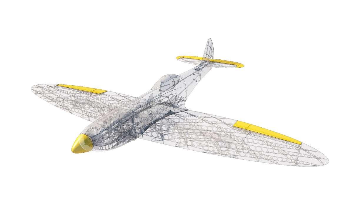 Spitfire Mk XVI od 3DLabPrint Roman Plesl