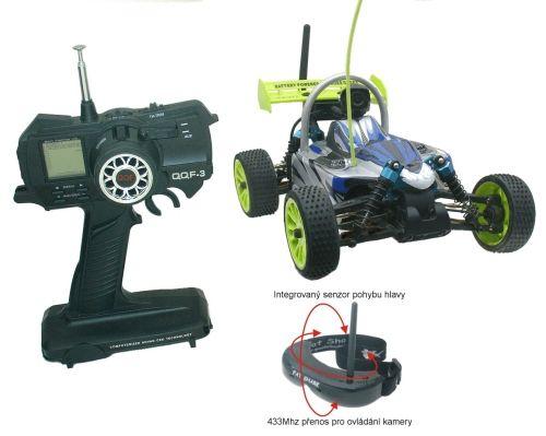 FPV RC car - model s virtuální realitou