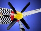 RC letadlo Mustang P-51D, 2,4Ghz, 4ch, ART-TECH, + PC simulátor, STŘÍDAVÝ MOTOR