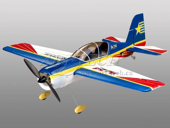 RC Akrobatický speciál YAK-54 - 2,4Ghz, 4ch, ART-TECH,+ PC simulátor, STŘÍDAVÝ MOTOR