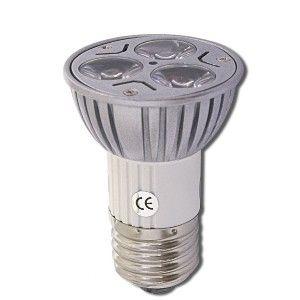Úsporná žárovka LED+ 3x, E27, bodová, bílá denní (3 W, 230 V)