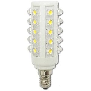 Úsporná žárovka LED+ 30x HIGH, E14, oválná, bílá denní (4,5 W, 240 V)