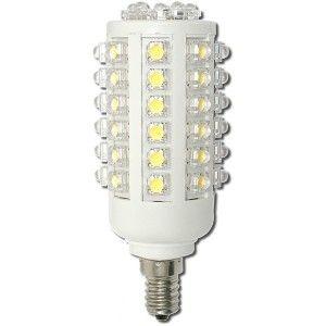 Úsporná žárovka LED+ 54x HIGH, E14, oválná, bílá denní (8,2 W, 230 V)