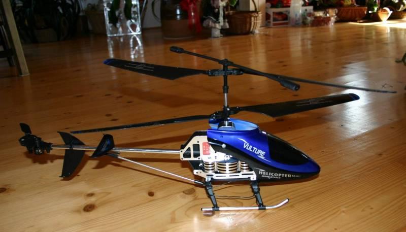RC vrtulník Volture 850, venkovní lety s GYREM, novinka
