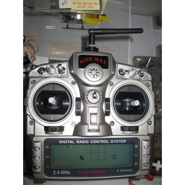 KingMax T-810, 2,4 GHz, PCM 1024, 8-kanálový vysílač s prijímačem